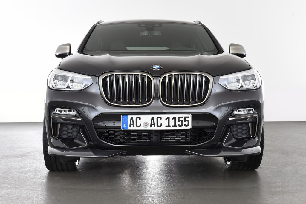 Front Spoiler Elements For Bmw X4 G02 M Sport
